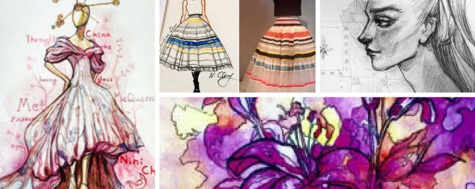 Fashion Illustration for Young Artists (grades 6-12)
