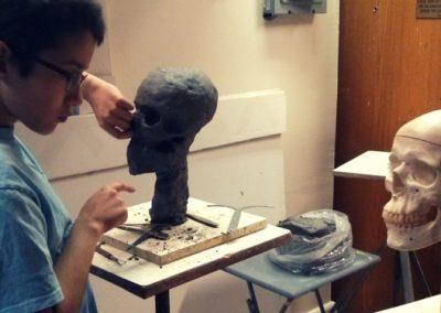 Young Artist Sculpture (grades 3-7)