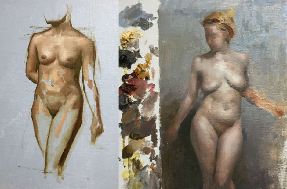 Atelier Figure Drawing & Painting (short poses)