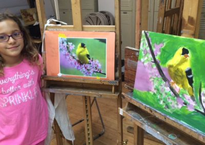 Young Artist Drawing & Painting (grades 3-7)