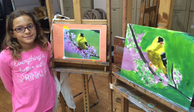 Young Artist Drawing & Painting OR Digital Art (grades 3-7)