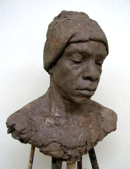oliver clay sculpture florence academy of art portrait rebecca forster