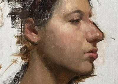 Alla Prima Portrait Painting (3 or 4hrs)