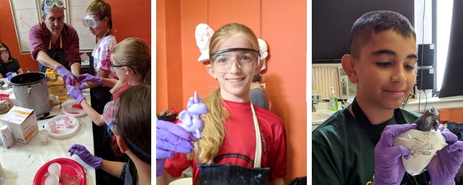 TOY DESIGN, SCULPTURE, & PRODUCTION (3rd-7th grade)