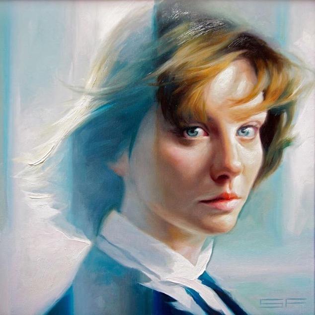 steve forster portrait painting hersh fine art