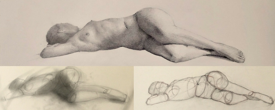 Dynamic Figure Drawing & Painting (2 or 3 hrs)