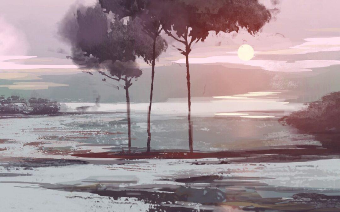 Digital Design & Oil Painting