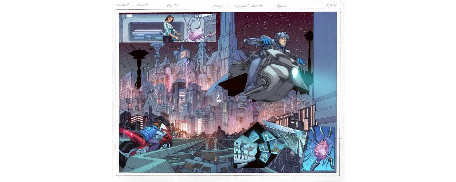 Online Graphic Novel Illustration (grades 7-12)