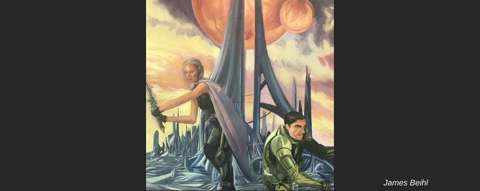 ALIEN LANDSCAPE: sci-fi scenic design (3rd-7th grades)